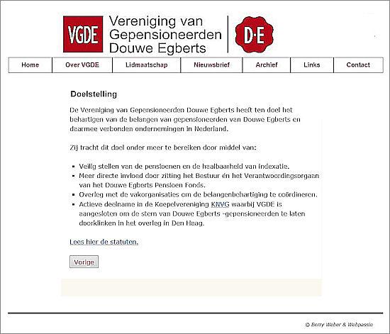 www.vgde.nl