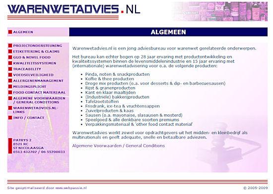 www.Warenwetadvies.nl